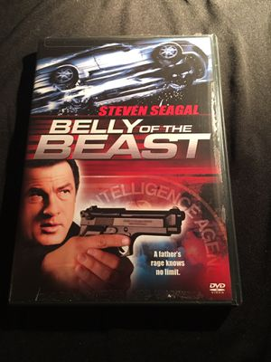 Belly of the Beast Steven Seagal DVD English Color Dolby Digital Stereo (Plastic sticky seal removed on front case right side) DVD Great Condition NO for Sale in La Habra, CA