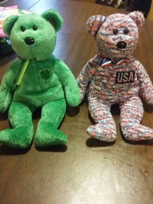 2000 TY USA and Dublin beanie babies for Sale in Bartow, FL