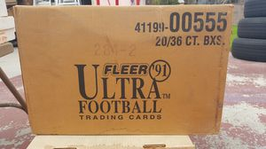 Case (20 Boxes) of 1991 Fleer Ultra Football for Sale in Columbia, MO