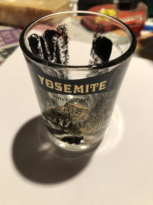 Glass Yosemite shot glass collectable for Sale in Aurora, CO