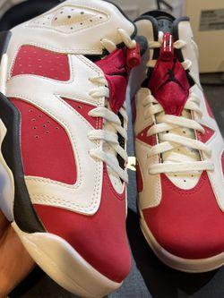 Jordan 6 Carmine Size 7Y for Sale in Elmhurst,  IL