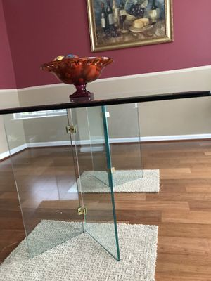 Modern glass dining table (moving sale) for Sale in Germantown, MD