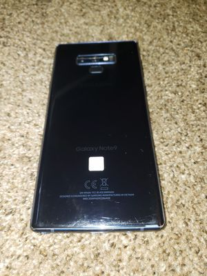 Samsung Note 9/128g Unlocked/Broken Screen For Sal for Sale in North Salt Lake, UT