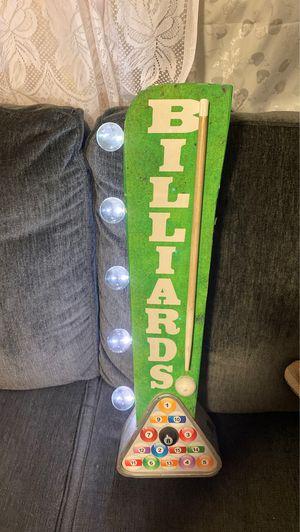 Billiards 🎱 light 💡 30$$ for Sale in Long Beach, CA