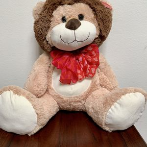 Valentine's Day Giant Plush Stuffed Lion for Sale in Irvine, CA