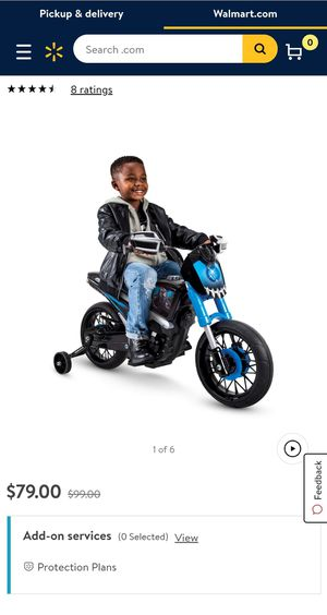 Marvel Black Panther 6V Battery-Powered Motorcycle Ride-On Toy by Huffy for Sale in Phoenix, AZ