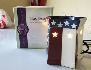 Scentsy Star Spangled warmer for Sale in Houston, TX