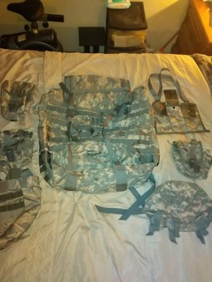 Military Duffle Bag with attachments for Sale in Phoenix, AZ