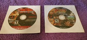 TEKKEN 5 & ART OF FIGHTING ANTHOLOGY PS2 GAME DISC ONLY for Sale in Missouri City, TX