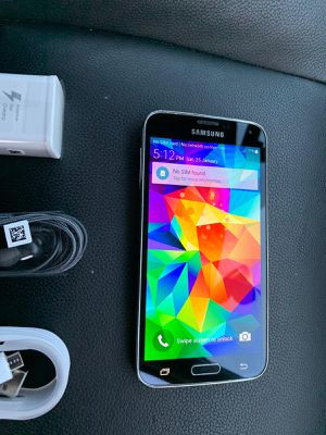 Samsung Galaxy S5. Factory Unlocked & Usable for Any SIM Any Carrier Any Country for Sale in West Springfield, VA