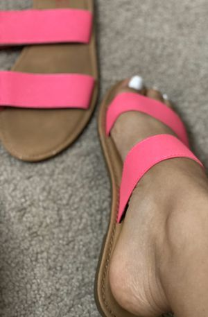 HOT PINK SLIDES — Size 8 for Sale in New York, NY