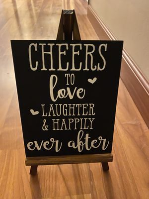 Wedding cheers sign for Sale in Covington, WA
