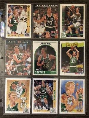Larry bird vintage collectible cards for Sale in Los Angeles, CA