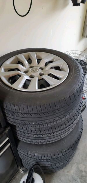 Nissan Altima Tires with with rims. for Sale in Portsmouth, VA