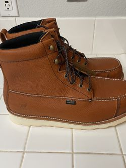 Brand New Red Wings Work Boots For Men . Size 13. Steel Toe . Waterproof for Sale in Riverside,  CA