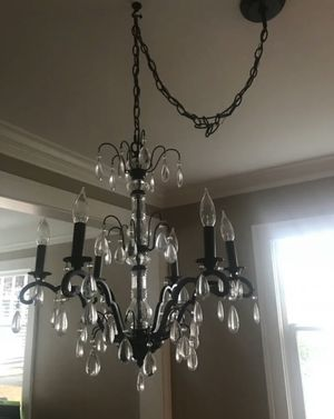 Pottery Barn crystal chandelier for Sale in Lynnwood, WA