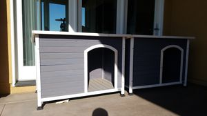 2 Wooden Dog houses for Sale in Brea, CA