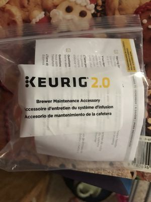 Keurig 2.0 brewer maintenance accessory NEW in BAG for Sale in Fresno, CA