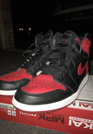 Air Jordan bred 1 11.5 PERFECT CONDITION for Sale in Fort Lauderdale, FL