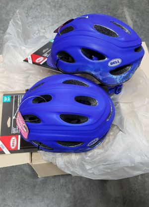 Brand new $10 each Bell bicycle helmet Sports Quest Adjustable Vented Adult Bike scooter Helmet safety helmet bike gear for Age 14 or older for Sale in Whittier, CA