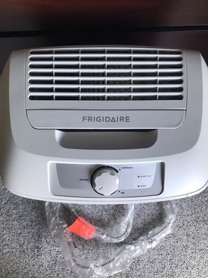 New Frigidaire High Efficiency Rated 70-Pint Dehumidifier and air filter for Sale in Gaithersburg, MD
