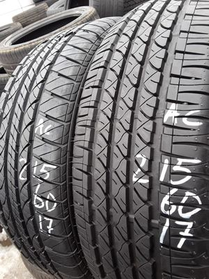 215/60-17 #2 tires for Sale in Alexandria, VA