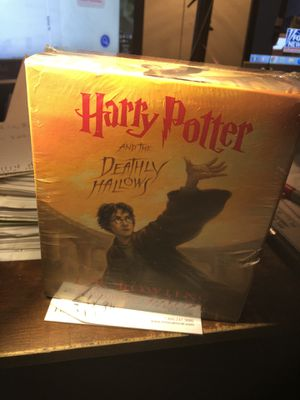 Harry Potter and the Deathly Hallows - 17 Compact Discs - Original Price was $80 - in Sealed Package - Never Opened - Pick Up in Des Plaines - $65 for Sale in Des Plaines, IL
