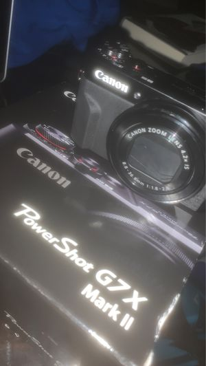 canon G7x new with original box for Sale in Florissant, MO