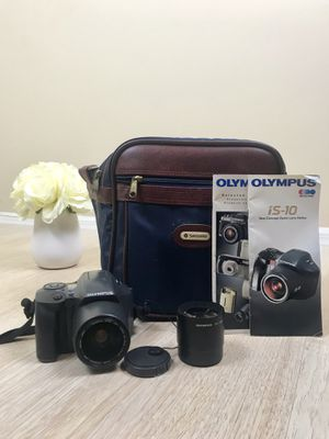OLYMPUS IS-10 DLX POINT AND SHOOT 35MM SLR FILM CAMERA. for Sale in Orlando, FL