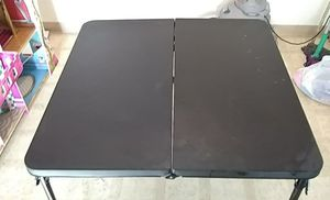 Black fold up table (brand new) for Sale in Lodi, CA