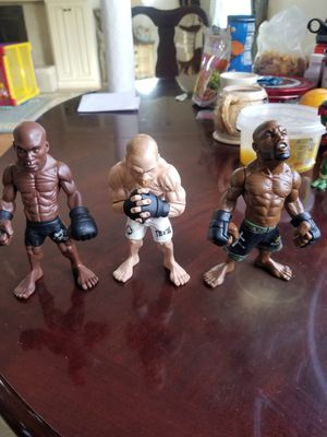 Ufc legendary fighters/ rampage/ the spider/ the axe murderer for Sale in Chula Vista, CA