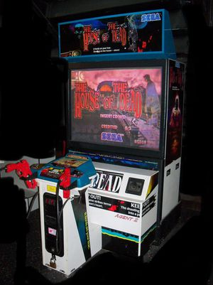 Arcade House of the Dead Dedicated Coinop Arcade Game Machine for Sale in Pico Rivera, CA