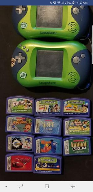 3 Kids LeapFrog + games, chargers and 1 case!! for Sale in Beaverton, OR