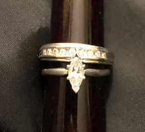 Engagement ring and wedding band for Sale in Tigard, OR