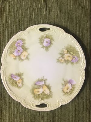 Vintage Wall Plate - Circa 1900 - Bavaria China Germany for Sale in Los Angeles, CA