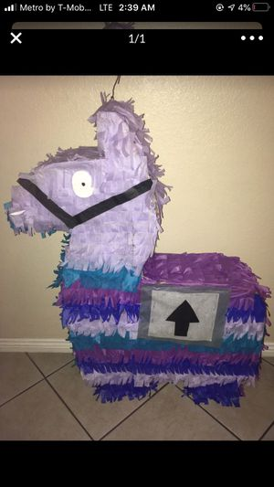 Lama Piñata from Fortnite for Sale in Phoenix, AZ
