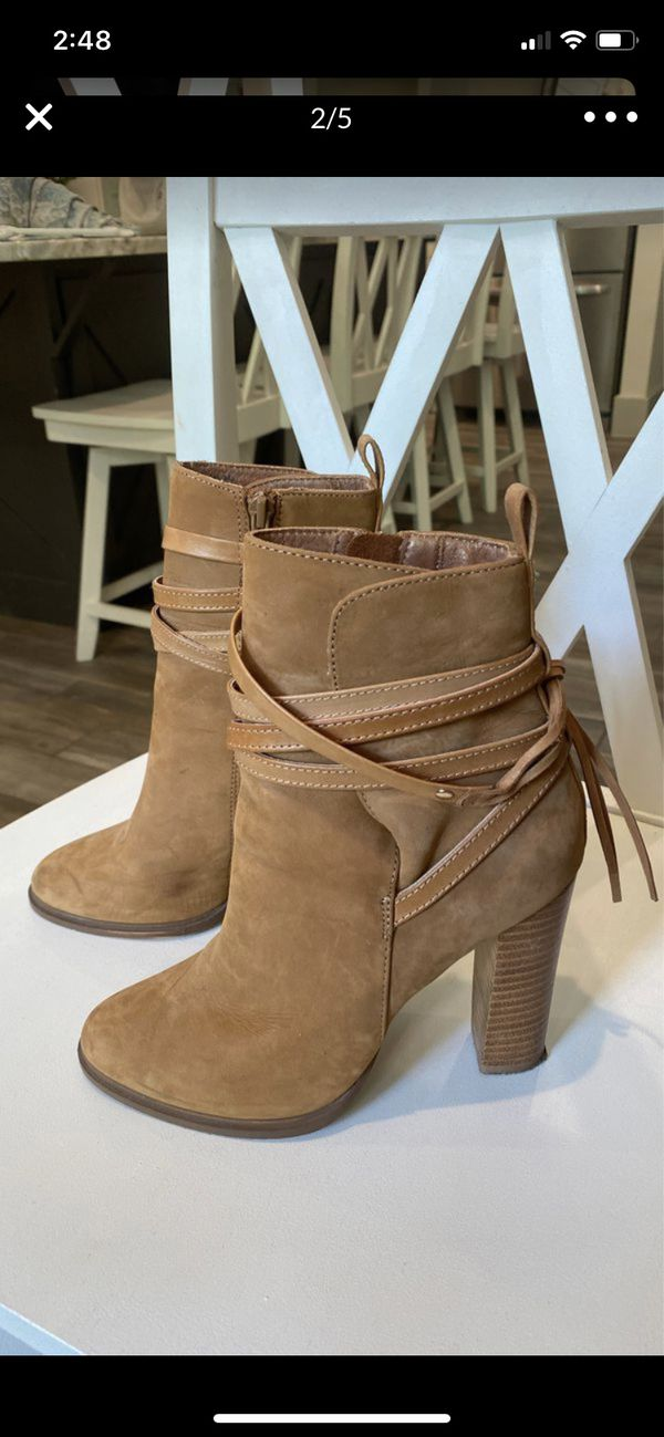 Steve Madden suede ankle women's boot