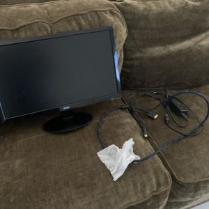 Acer Monitor And Video Cable for Sale in Port Richey, FL