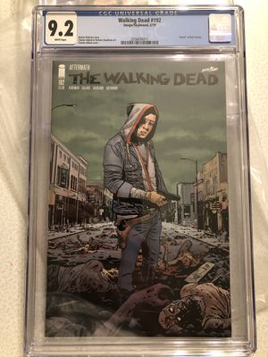 Image Comics THE WALKING DEAD issue #192 CGC Graded 9.2 The Death Of Rick Grimes - key issue for Sale in Plainfield, IL