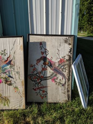 Large Chinese tapestry for Sale in Clearwater, KS