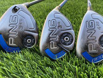 PING G30 Hybrid (3,4) & Wood (3) Set | Right Handed | SR Flex | Golf for Sale in Chula Vista,  CA