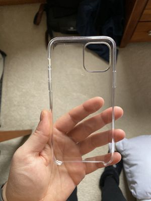 Apple iPhone 11pro clear case for Sale in Woodbury, MN