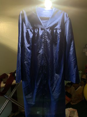 Graduation Gown 6'1-6'3. for Sale in Sunnyvale, CA