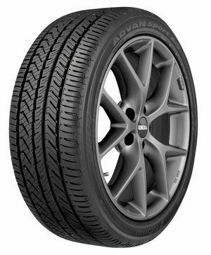 (4) 215/40R18 Yokohama Advan Sport All Season Tires for Sale in Ellicott City, MD