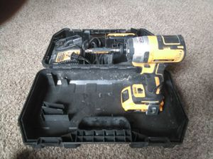 Dewalt 20v 3 speed Impact drill. 3 months old. Charger and 2 batteries. for Sale in New Castle, PA