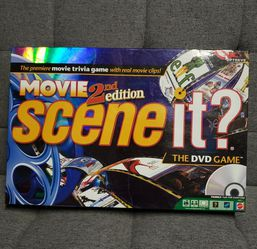 Scene It Movie 2nd Edition The DVD Game for Sale in Redondo Beach,  CA
