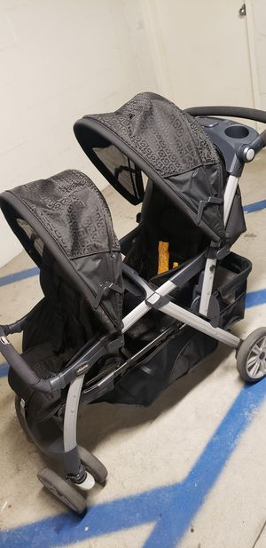 Chicco Cortina Together Double Stroller for Sale in Los Angeles, CA