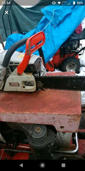 Chain saw and snowblower for Sale in Fountain, MI