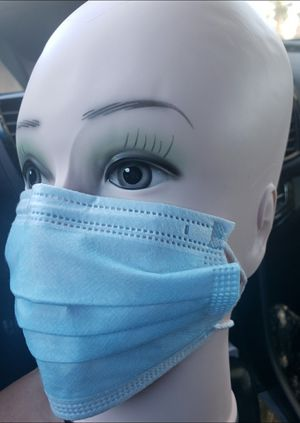 50 PCS Per Box Disposable Protective Mask 3 Layers With Cotton... 50 PCS Por Caja Mascarilla protectora desechable 3 capas con algodón for Sale in Los Angeles, CA