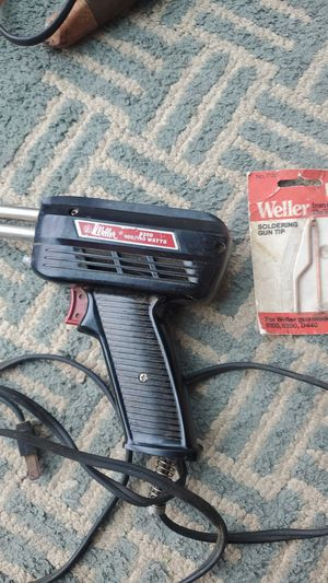 Soldering iron, 100/140 wants, with a replacement tip for Sale in Bothell, WA